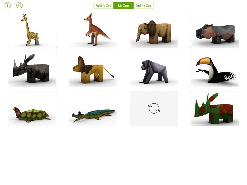 Foldify animaux