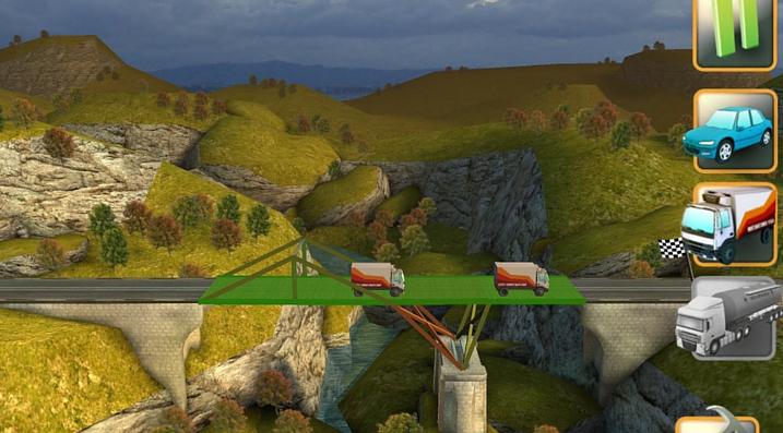 Bridge Constructor point camion
