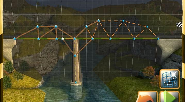 Bridge Constructor solution